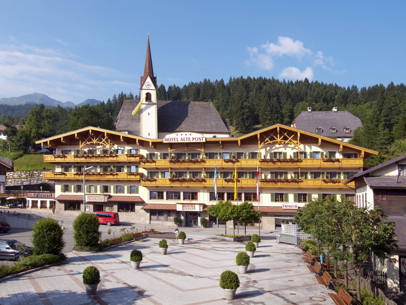 Fieberbrunn Tirol Hotel Alte Post